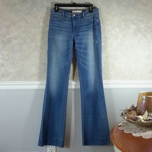 MARC BY MARC JACOBS | Distressed Wide Leg Jeans 27